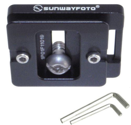 Sunwayfoto DP-39R DP39-45mm Placa De Liberación Rápida-Completo Arca compatible Sunway